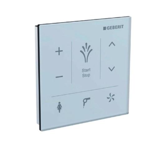 Wandbedienpanel, zu AquaClean Mera u. Tuma Comfort, Glas weiss