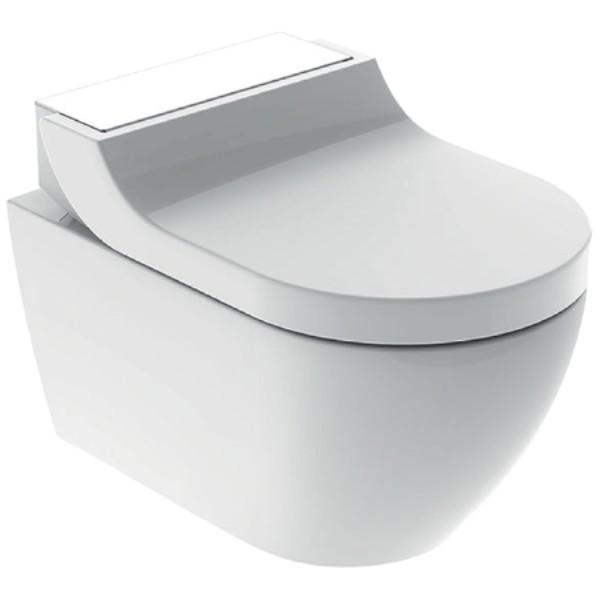 AquaClean Tuma Comfort WC-Komplettanlage, Wand-WC, Glas weiss
