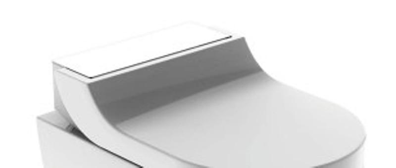 AquaClean Tuma Comfort WC-Aufsatz, weiss Glas, ohne WC Keramik