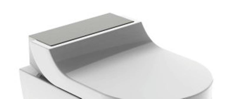 AquaClean Tuma Comfort WC-Aufsatz, Edelstahl gebürstet ohne WC Keramik