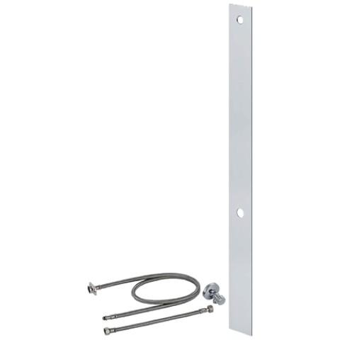 Umbauset für AquaClean WC-Aufsätze, Aluminium gebürstet, H. 106,5 , Monolith 114 cm