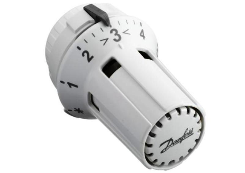 Fühlerelement, Thermostatkopf, RAW 5110, mit Schnappbefestigung, mit Nullabsperrung