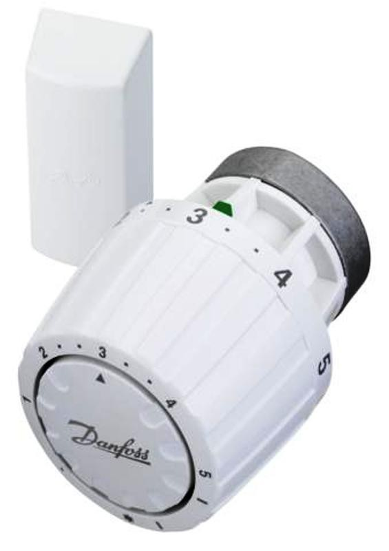 Servicefühler, Thermostatkopf, RA/V Fernfühler, mit 2 Meter Kapillarrohr, Ventilhals 34mm, weiss