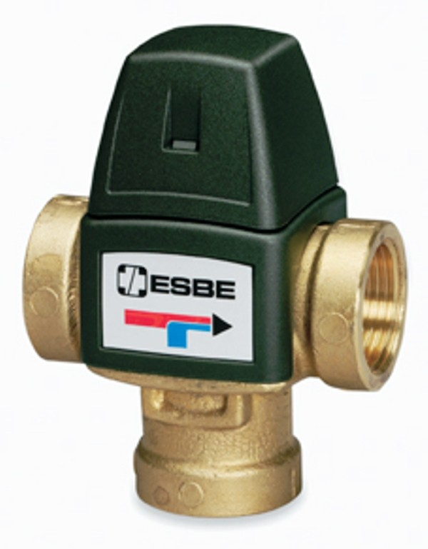 Brauchwassermischer, Mischer, Verbrühschutz, 35-60 Grad DN 20 IG, Serie VTA321