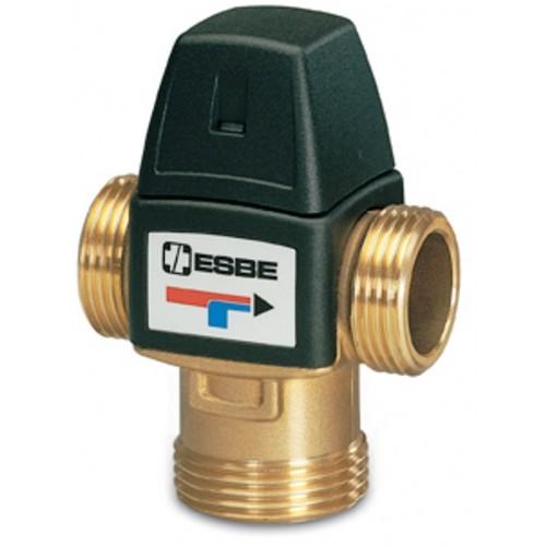 Brauchwassermischer, Verbrühschutz, 35-60 Grad DN 25 AG, Serie VTA 322