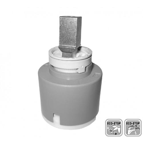 Kartusche, Keramikkartusche, 42 mm, mit Wasser- und Energiesparfunktion, ECO-Stop