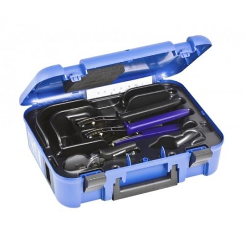 Mepla Handpresswerkzeug, Handpresszangen, 16 - 26 mm, komplett im Koffer