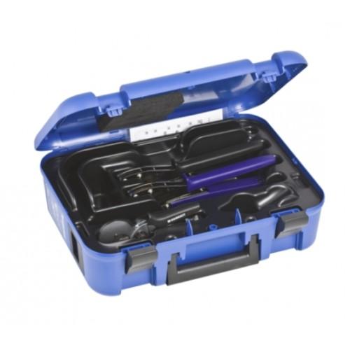 Mepla Handpresswerkzeug, Handpresszangen 16 - 20 mm, komplett im Koffer