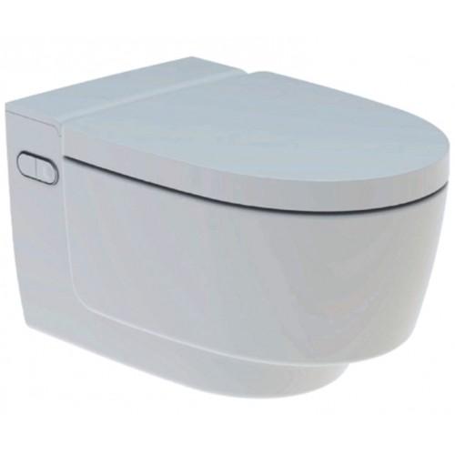 AquaClean Mera Classic, WC-Komplettanlage, Wand-WC, weiss-alphin