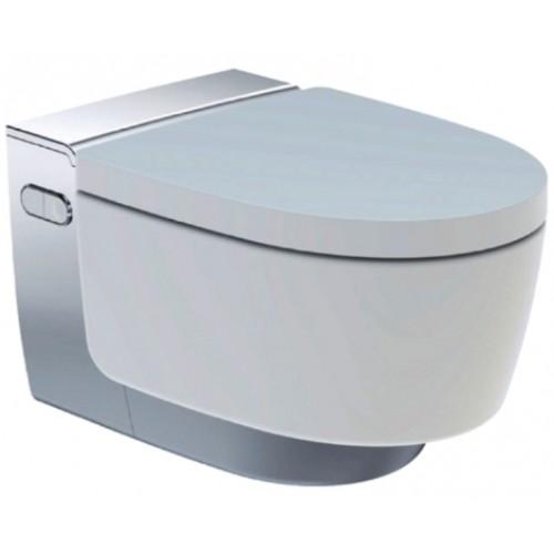 AquaClean Mera Comfort WC-Komplettanlage, Wand-WC, hochglanz-verchromt