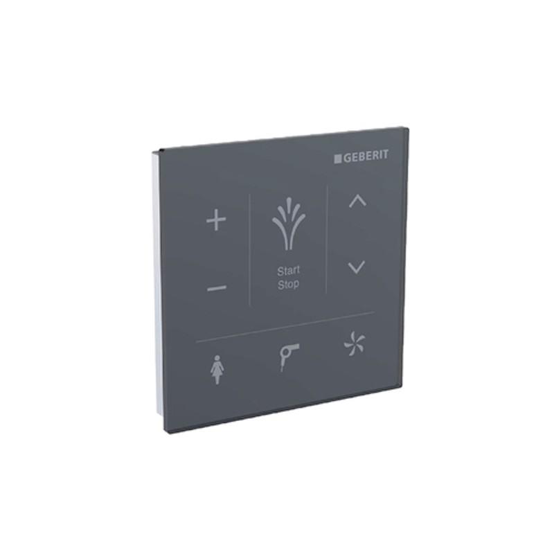 Wandbedienpanel, zu AquaClean Mera u. Tuma Comfort, Glas schwarz