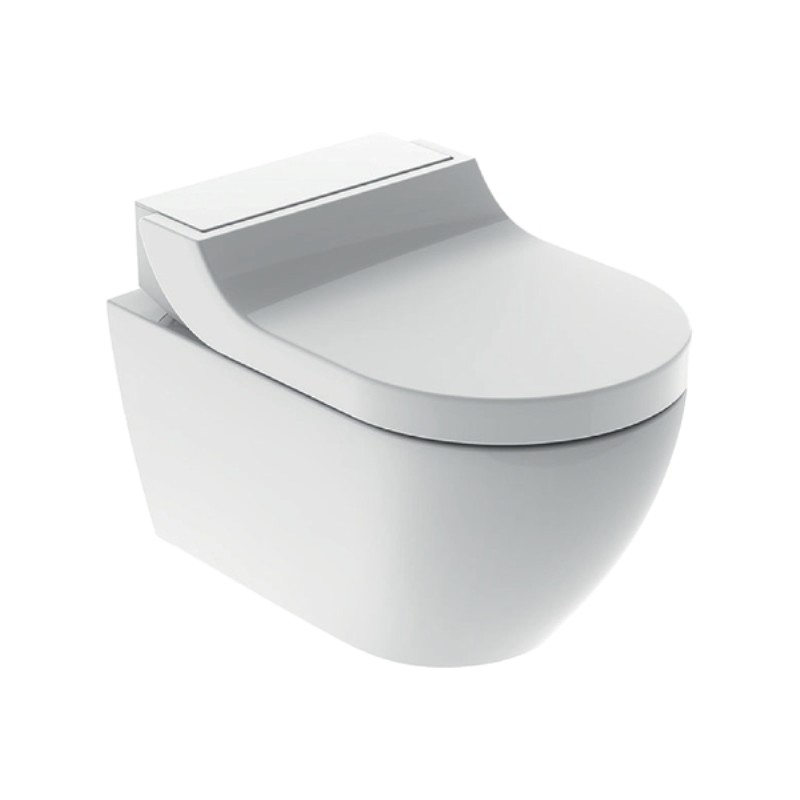 AquaClean Tuma Comfort WC-Komplettanlage, Wand-WC, weiss-alphin