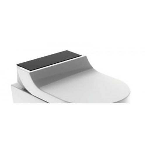 AquaClean Tuma Comfort WC-Aufsatz, schwarz Glas, ohne WC Keramik