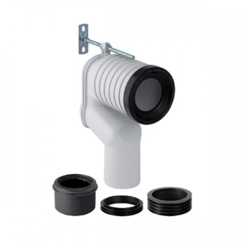 Anschlussbogen, Set P, für Monolith Stand-WC