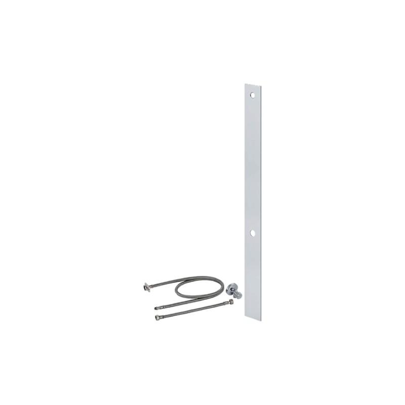 Umbauset für Geberit AquaClean WC-Aufsätze, Aluminium gebürstet, H. 106,5 , Monolith 114 cm