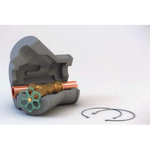 Ventilkappe, Ventilisolierung, Ventilkappen aus geschlossenzelligen, geschäumten und vernetzten Polyethylenschaum