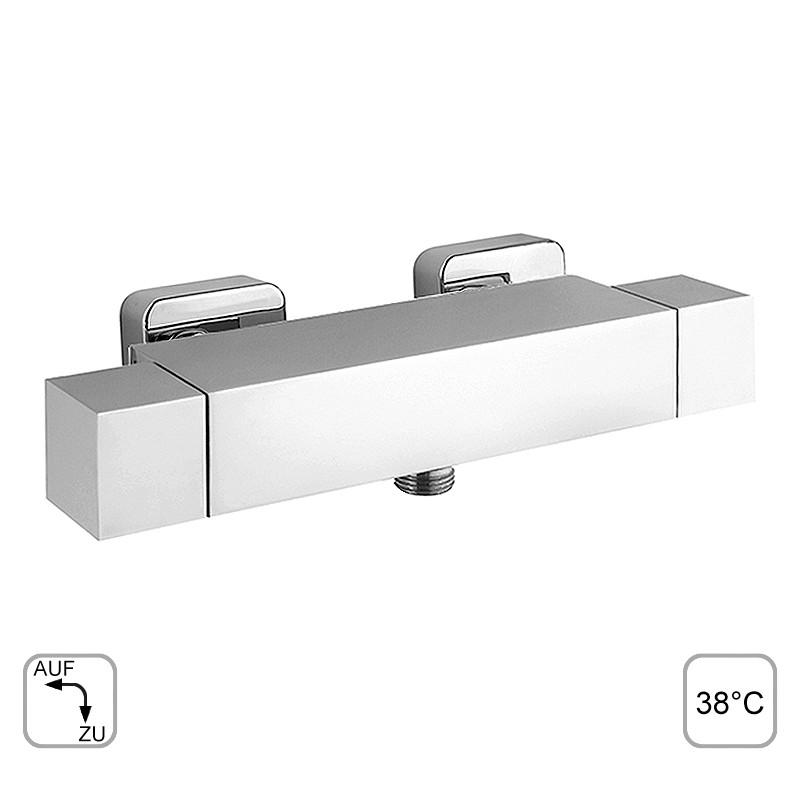 yola brausearmatur thermostat duscharmatur chrom. Black Bedroom Furniture Sets. Home Design Ideas