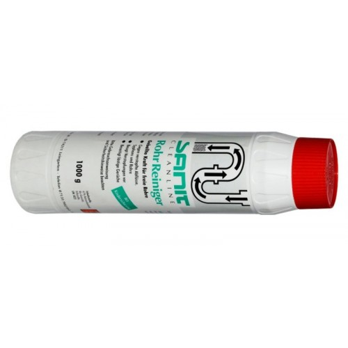 Rohrreiniger, Abflußreiniger, hochwirksamer Rohrrreiniger, Granulat, 1000ml Flasche