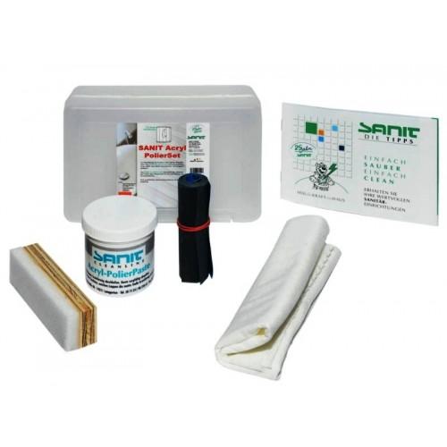 Acrylreiniger, Acrylpflege, PolierSet, zum Renovieren und Reinigen von Acryloberflächen