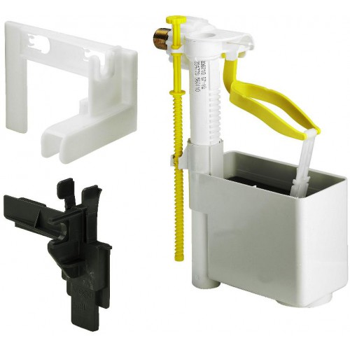 Schwimmerventil, Füllventilset, Kunststoff m.Halter, für UP-Spülkasten 1H / 1L / 2H / 2L / 1S / 2S