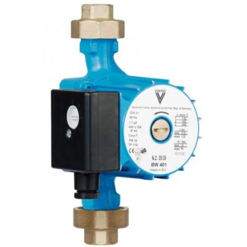 """Brauchwasserpumpe, Zirkulationspumpe, BWO 401 V3/4""""i, ohne Regelmodul, mit Lötfitting 22mm"""