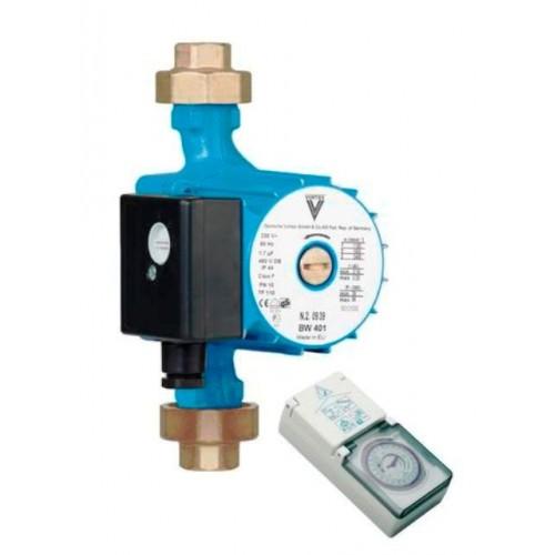 """Brauchwasserpumpe, Zirkulationspumpe, BWO 401 V3/4""""i, ohne Regelmodul, mit ext. Zeitschaltuhr"""