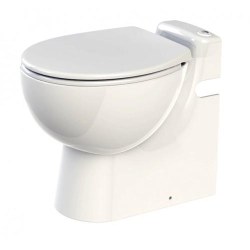 WC Keramik, SaniCompact PRO, mit Integrierter Hebeanlage, Abwasserhebeanlage