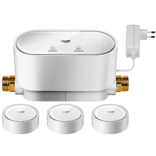 Sense Guard Intelligente Wassersteuerung, Rohrbruchsicherung, inkl. 3 x Wassersensor