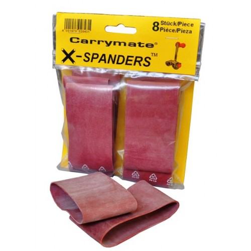 Carrymate, X-Spander, Pack a. 4 Stck., Zubehör für alle Carrymate Tragegriffe / Plattenträger