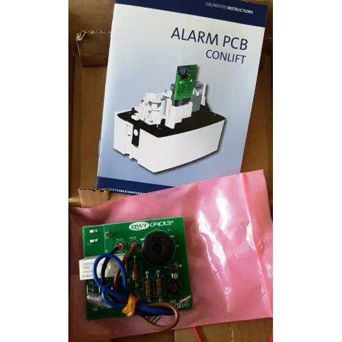 Alarmplatine PCB für Conlift 1, Kondensathebeanlage, Hebeanlage, Kondensatpumpe