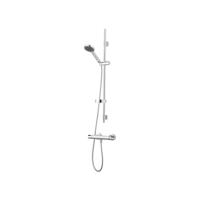 Cera Shower Kit, Duschset, Duschpaket aus Cera T4 Duschthermostat und Cera S5 Duschset