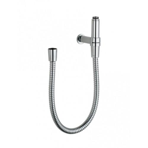 Anschluss-Set, Flexibel, für Duschsysteme, Chrom, 1,0 mtr.