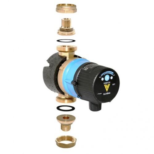 Brauchwasserpumpe, Zirkulationspumpe, BWO 155 V, BlueOne, m. elektronischem Regelthermostat