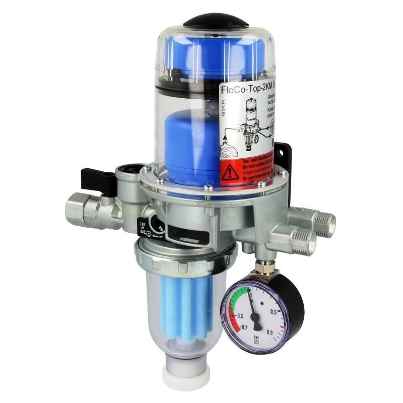 Heizölentlüfter, Heizölfilter, Ölfilter, FloCo-Top-2KM, Opticlean MC-7 kurz, 5-20 µm, Art: 70112
