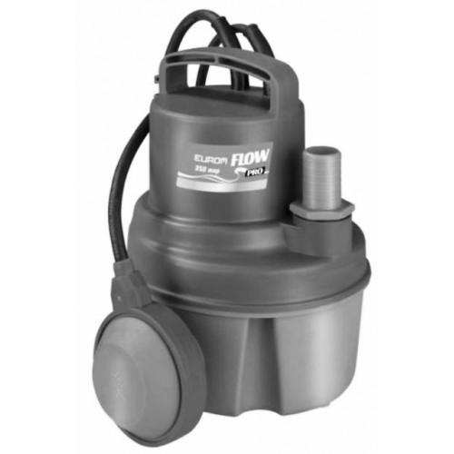 Tauchpumpe, Schmutzwassertauchpumpe  Pro 350, bis ø 5 mm Korngröße