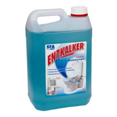 Entkalker für Kleinhebeanlagen, Hebeanlagen, 5 Liter X2910, Sanibroy