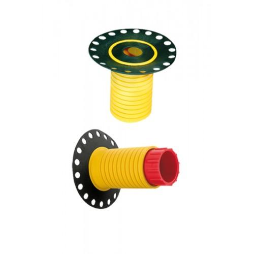 Dichtfix, Spezial Abdichtungshülse für den Trockenbau oder UP-Montage bis zu 60mm, 10er Set