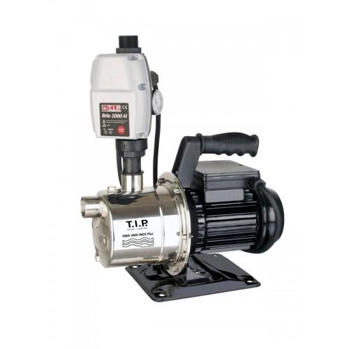 Hauswasserautomat HWA 4400 INOX Plus, Hauswasserwerk, Saugpumpe mit Elektronischer Pumpensteuerung