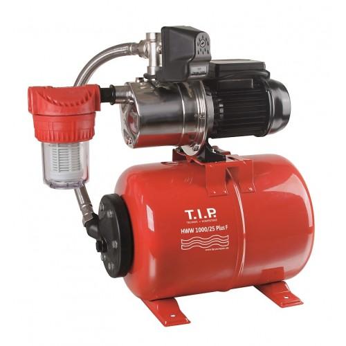Hauswasserwerk HWW 1000/25 Plus F, Hauswasserversorgungspumpe, Hauswasserautomat