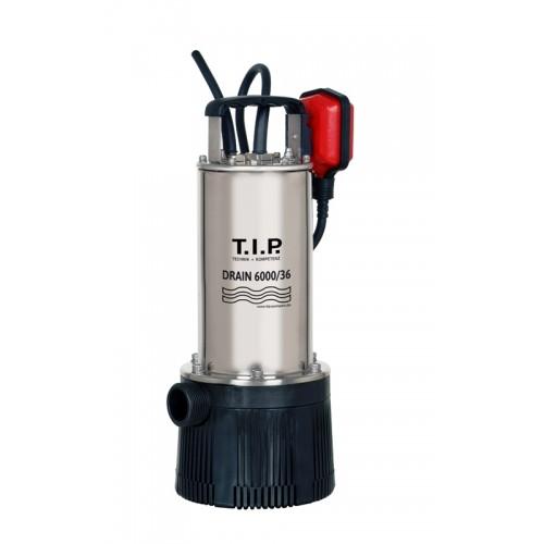 Tauchdruckpumpe DRAIN 6000/36, Tauchpumpe, Schmutzwasserpumpe