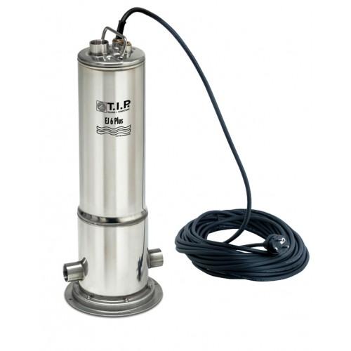 Zisternenpumpe EJ 6 Plus, Tauchdruckpumpe, Edelstahlpumpe, Brunnenpumpe