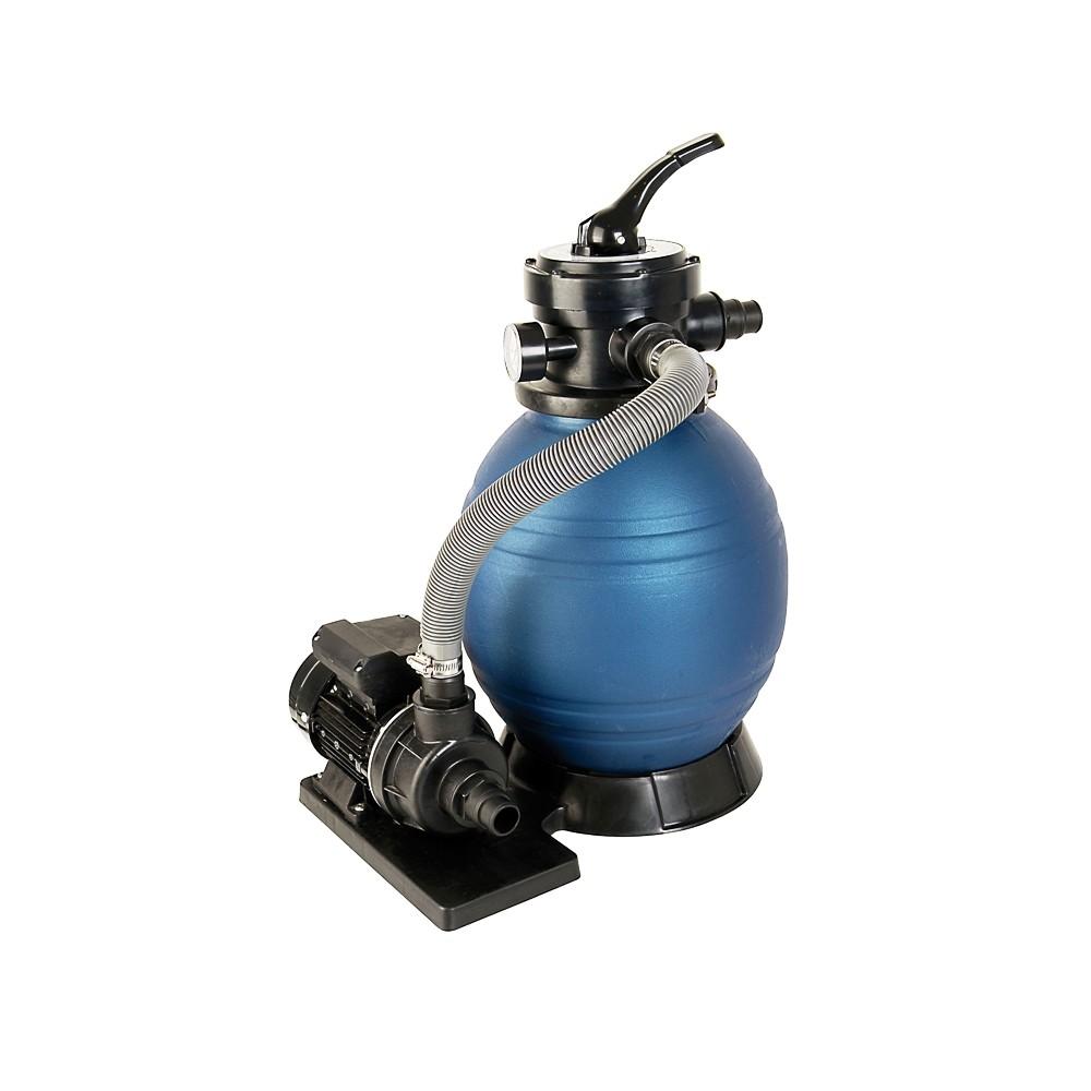 Schwimmbad Filter SetSPF 180, bestehend aus Pumpe und Sandfilter, ohne Quarzsand ~ 01175401_Gartenteich Ohne Pumpe Und Filter