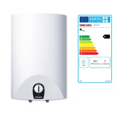 Speicher, Warmwasserspeicher, SH 15 SL comfort, 2kW/230V druckfest, weiss, Übertischausführung