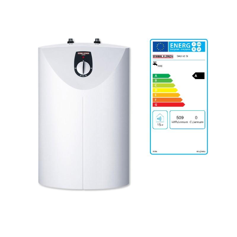Speicher, Warmwasserspeicher, SHU 10SL comfort, Untertischausführung, druckfest weiss
