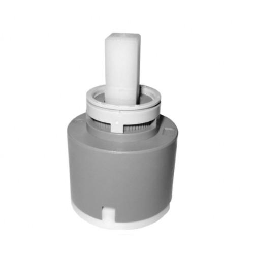 Kartusche, Keramikkartusche, 40 mm, mit Normalfunktion, mit Sockel & 2 Fixpunkte