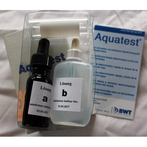 Aquatest Prüfgerät, zur Bestimmung der Wasserhärte, z.b. bei Einsatz von Wasserbehandlungsanlagen