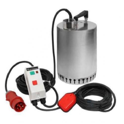 Unilift AP 12.40.08.A3 Tauchpumpe 400V, Schmutzwasserpumpe mit Schwimmerschalter, mit 10 mtr. Kabel