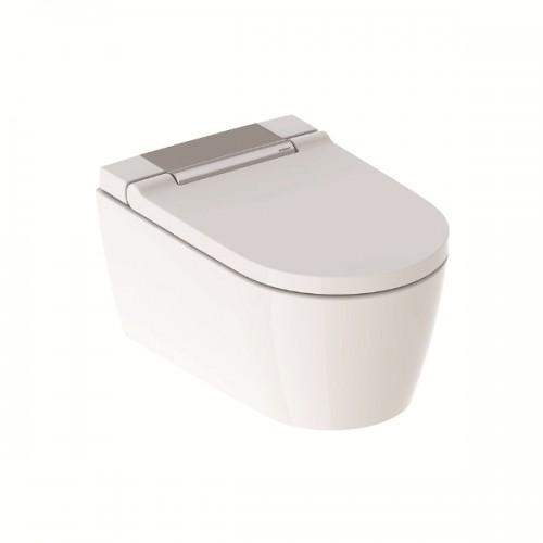 AquaClean Sela NEU, Sela WC-Komplettanlage Wand-WC, (lieferbar ab ca. 04.2019), hochglanz-verchromt