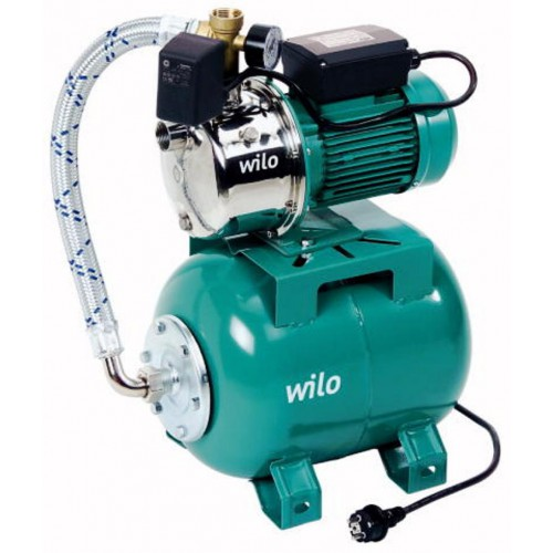 Jet HWJ 20 L 204, Hauswasserwerk, Kreiselpumpenanlage, Regenwasser in Kompaktbauform, (1~230 V)