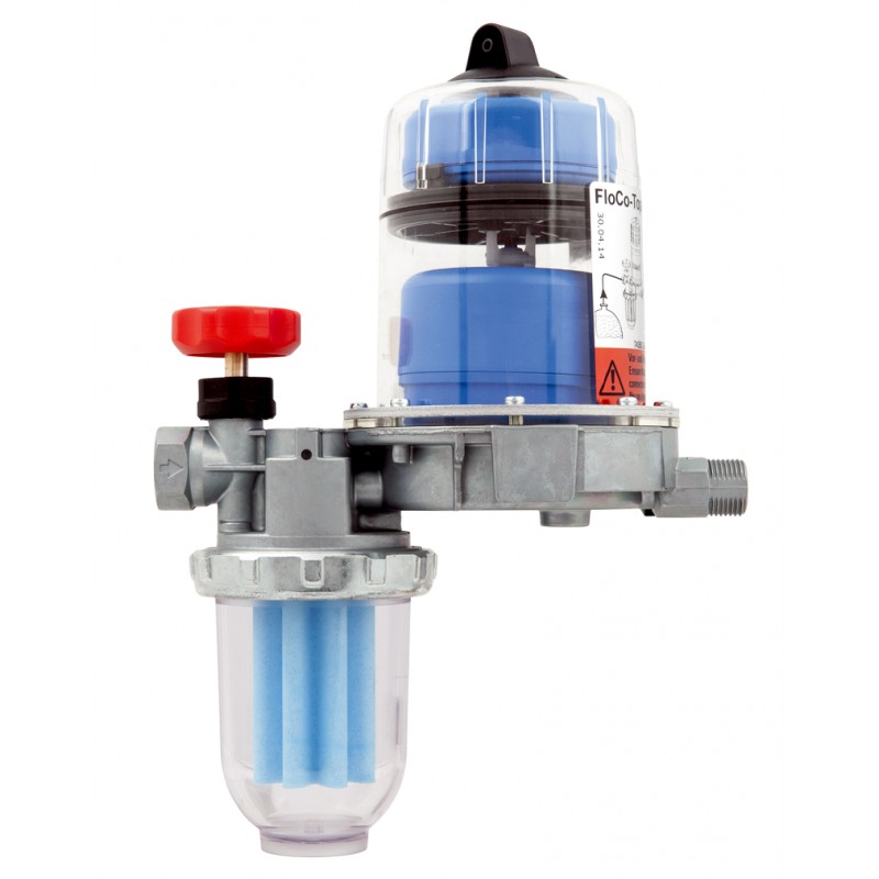 Heizölentlüfter, Heizölfilter, Ölfilter, Flo-Co-Top-K mit intergriertem Filter